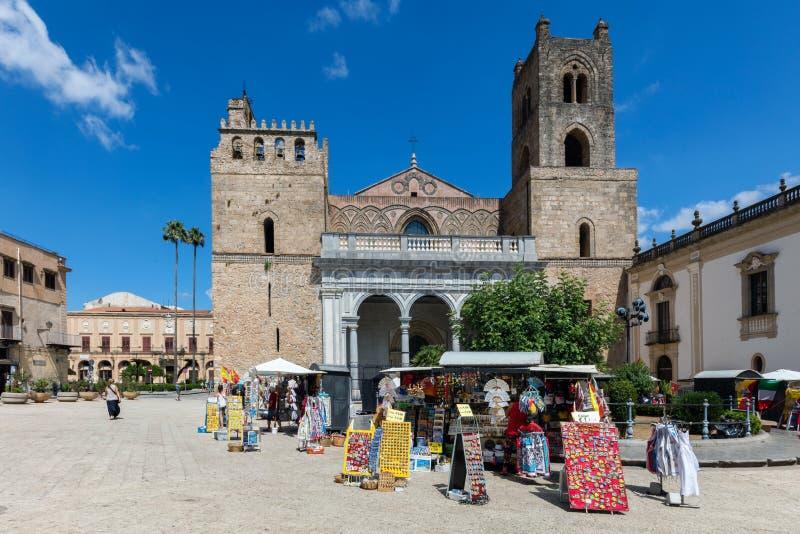 Catedral de Monreale fotografía de archivo