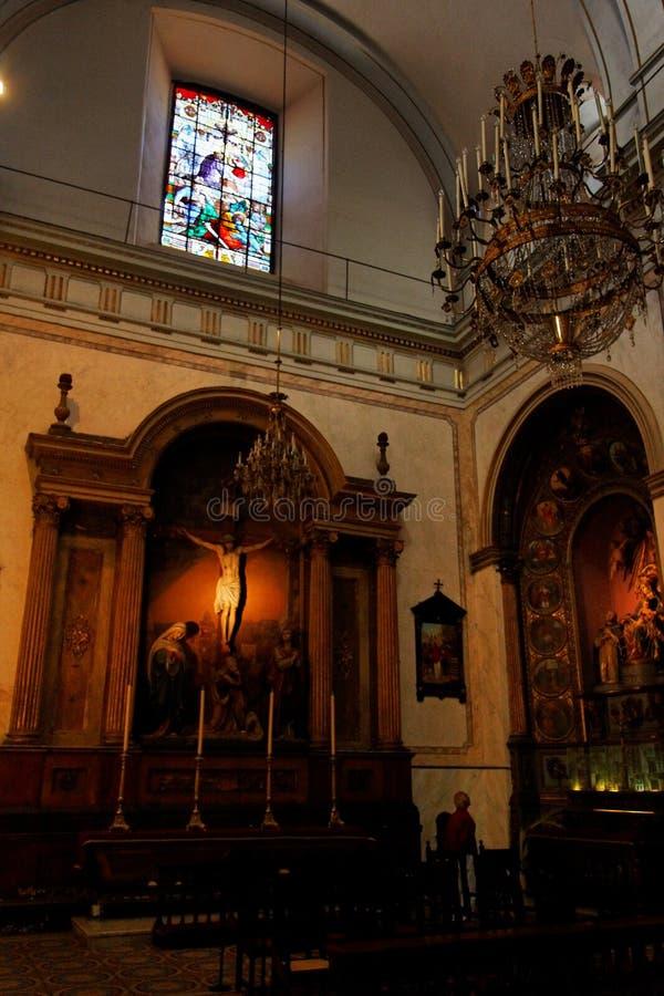 Catedral de Montevideo foto de stock