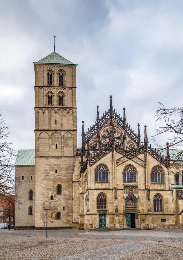 Catedral de Munster, Alemanha foto de stock royalty free