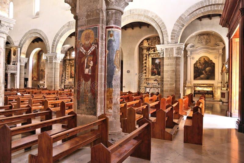 Catedral de Nardo imagens de stock royalty free