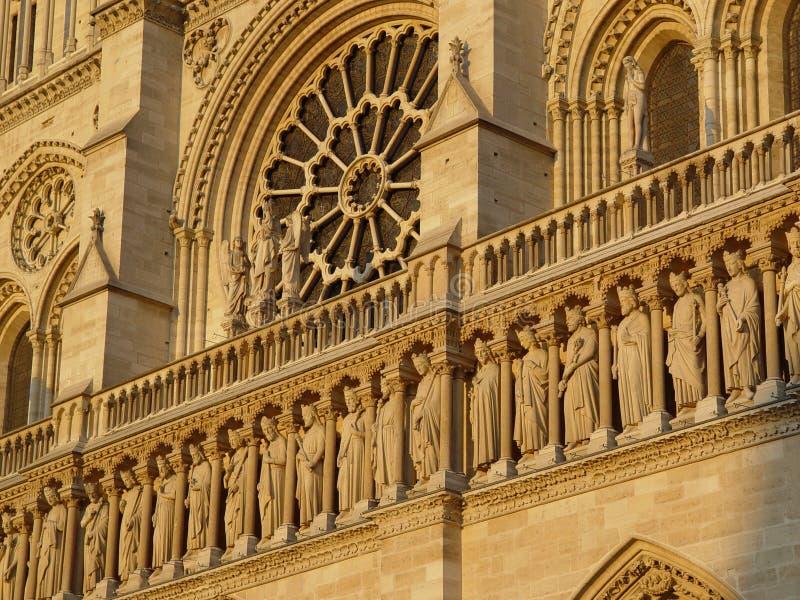Catedral de Notre Dame fotos de stock