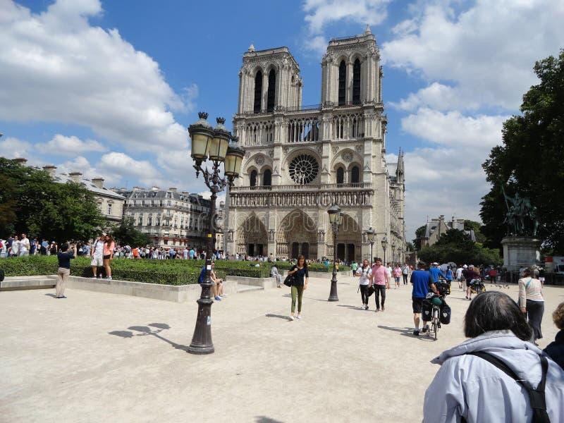 Catedral de Notre Dame imágenes de archivo libres de regalías