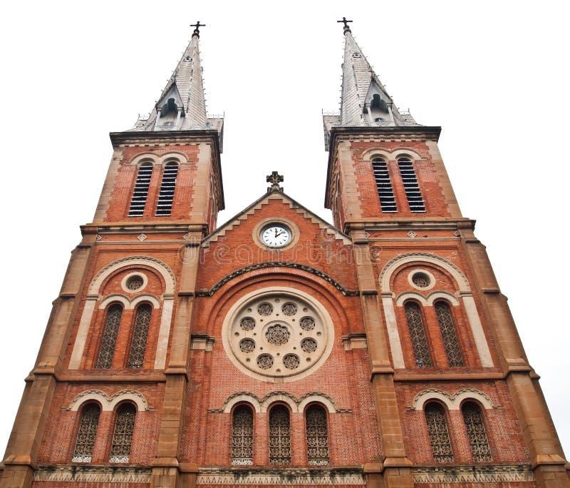 Catedral de Notre Dame em Ho Chi Minh City Vietnam fotos de stock