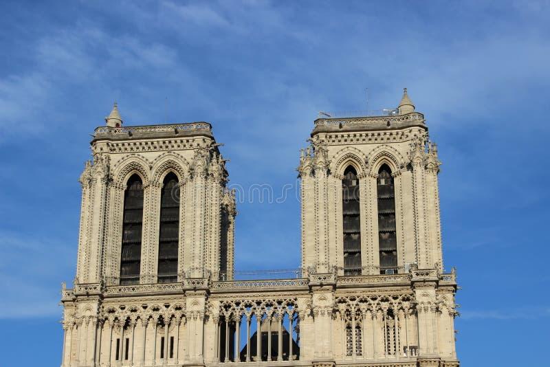 Catedral de Notre-Dame em Paris, França fotografia de stock royalty free