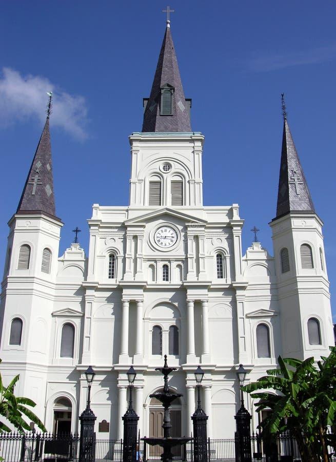 Catedral de Nova Orleães fotografia de stock