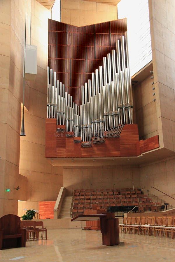 Catedral de nuestra señora de los ángeles fotografía de archivo