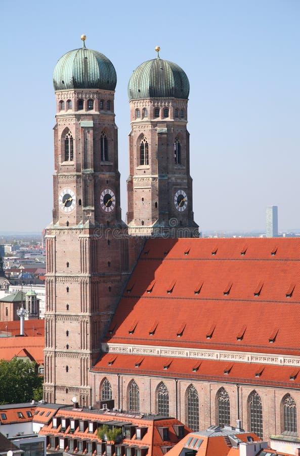 Catedral de nuestra señora en Munich imagen de archivo libre de regalías