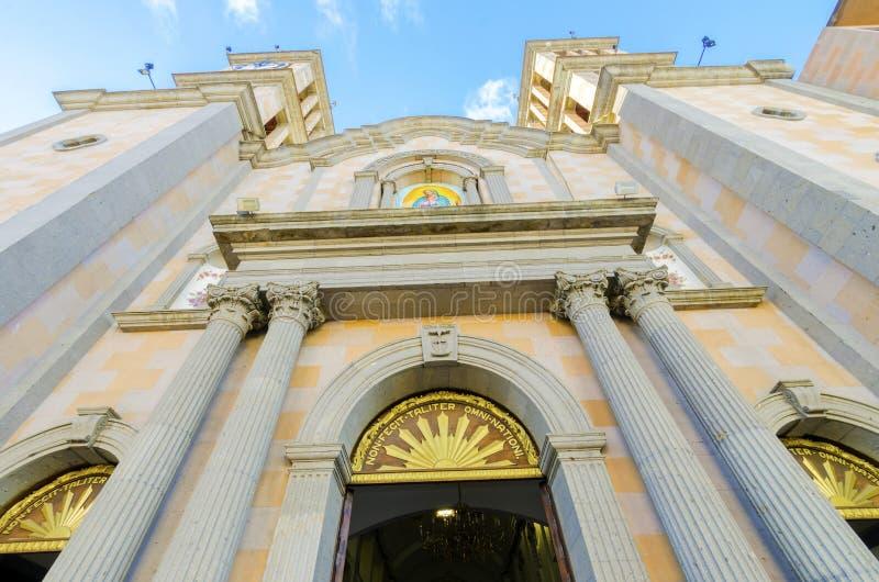 Catedral de Nuestra Senora de Guadalupe, Tijuana, Messico immagine stock