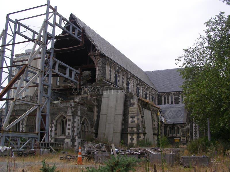 Catedral de Nueva Zelanda Christchurch fotografía de archivo libre de regalías