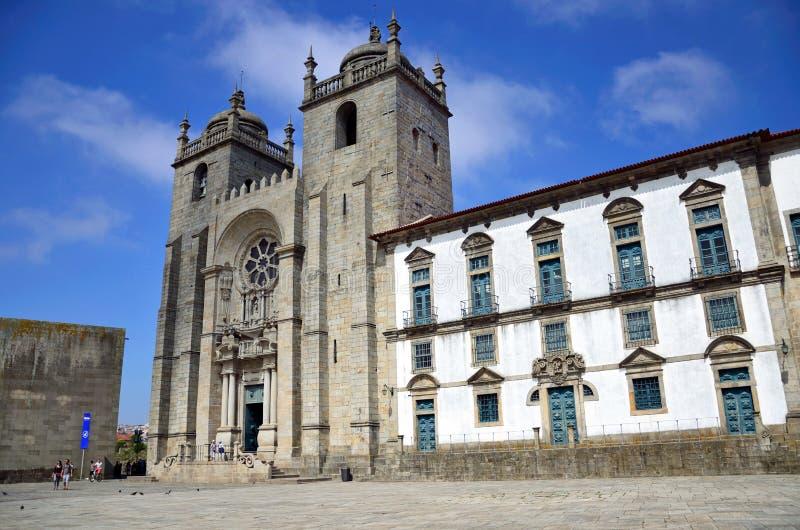 Catedral de Oporto fotografía de archivo libre de regalías