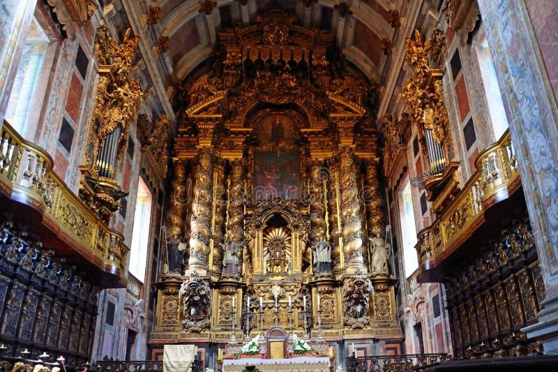 Catedral de Oporto foto de archivo libre de regalías