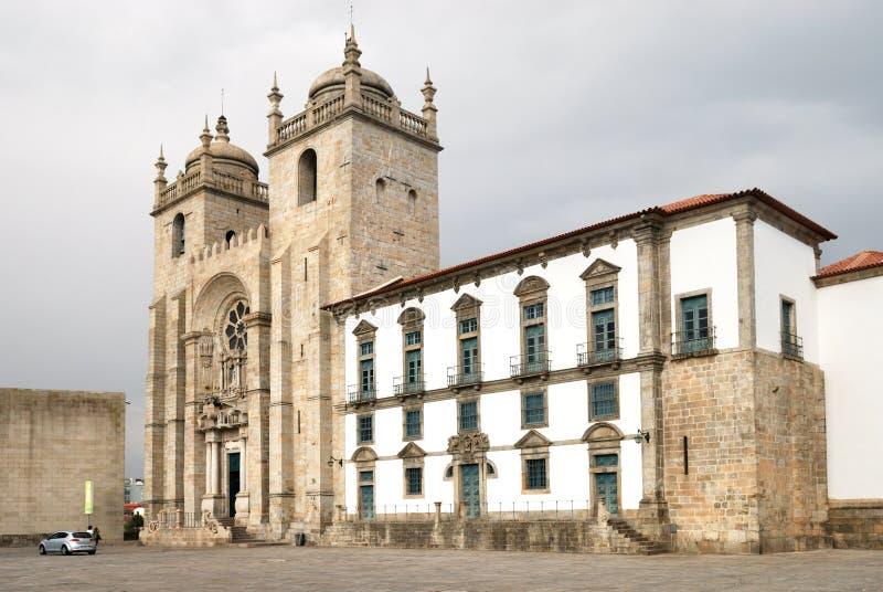 Catedral de Oporto imagen de archivo libre de regalías