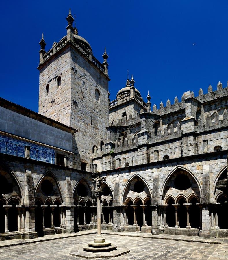 Catedral de Oporto fotos de archivo libres de regalías