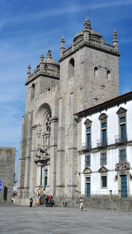Catedral de Oporto, Oporto, Portugal imagen de archivo