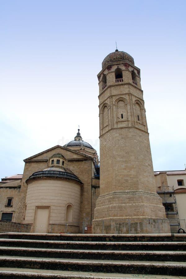 Catedral de Oristano Cerdeña Italia fotografía de archivo