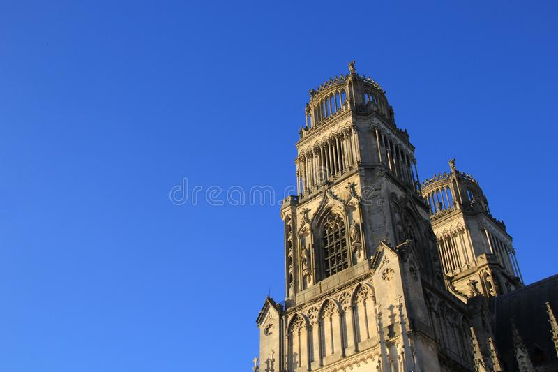 Catedral de Orleans - Francia, región Centro fotografía de archivo