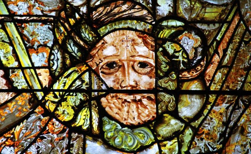 Catedral de Orleans - Ventana de vidrio manchado fotografía de archivo libre de regalías