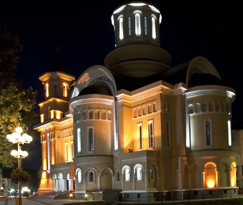 Catedral de Ortodox de Caransebes 2 imagenes de archivo