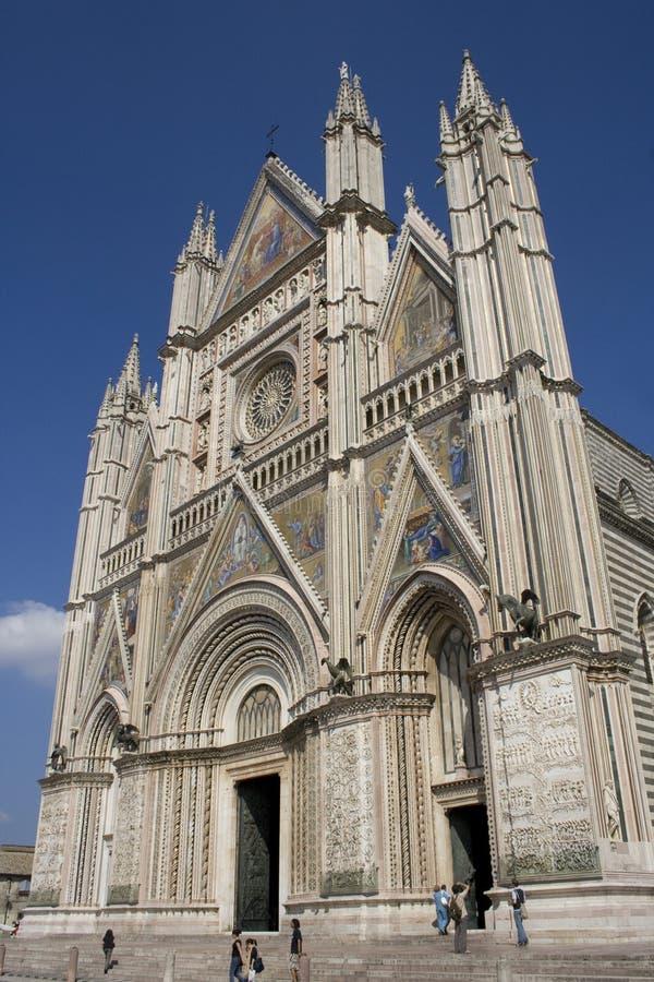 Catedral de Orvieto imagen de archivo libre de regalías