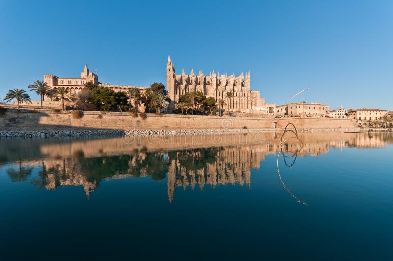 Catedral de Palma fotos de archivo libres de regalías