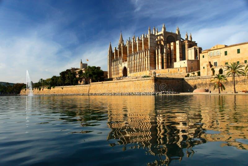 Catedral de Palma de Majorca fotos de archivo libres de regalías