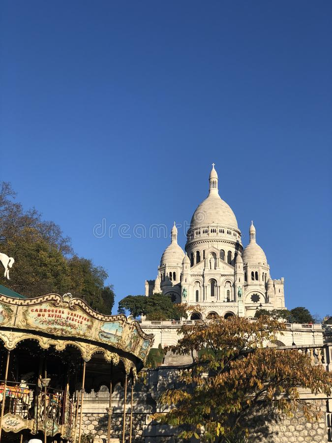 Catedral de Paris royalty free stock photos