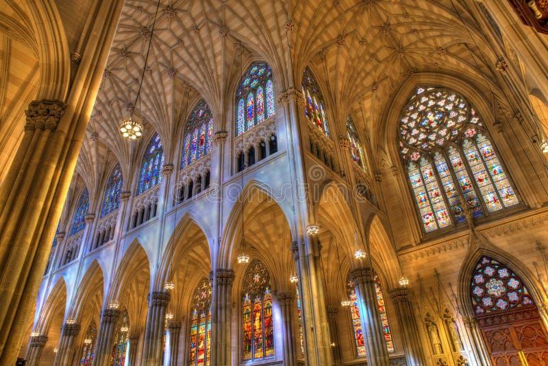 Catedral de Patricks del santo fotografía de archivo libre de regalías
