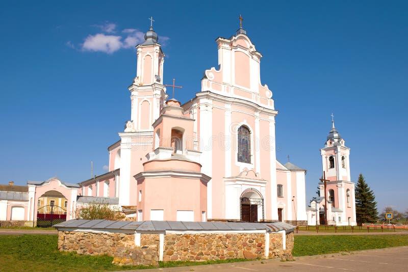 Catedral de Peter e de Paul Boruny, Bielorr?ssia foto de stock royalty free