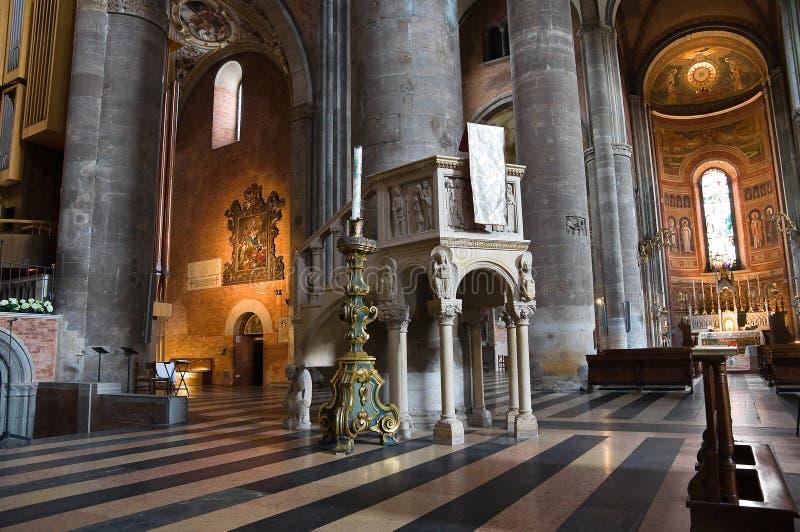Catedral de Piacenza. Emilia-Romagna. Italy. imagens de stock royalty free