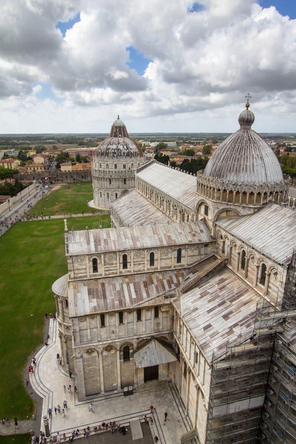 Catedral de Pisa El dei Miracoli Piazza del Duomo de la plaza I fotos de archivo libres de regalías