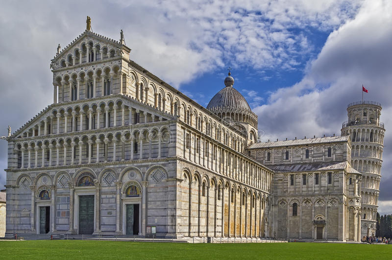 Catedral de Pisa, Italy fotografia de stock royalty free