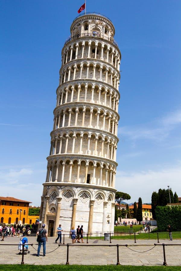 Catedral de Pisa no quadrado dos milagre, Toscânia, Itália fotos de stock royalty free