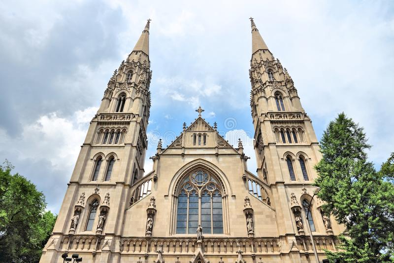 Catedral de Pittsburgh imagenes de archivo