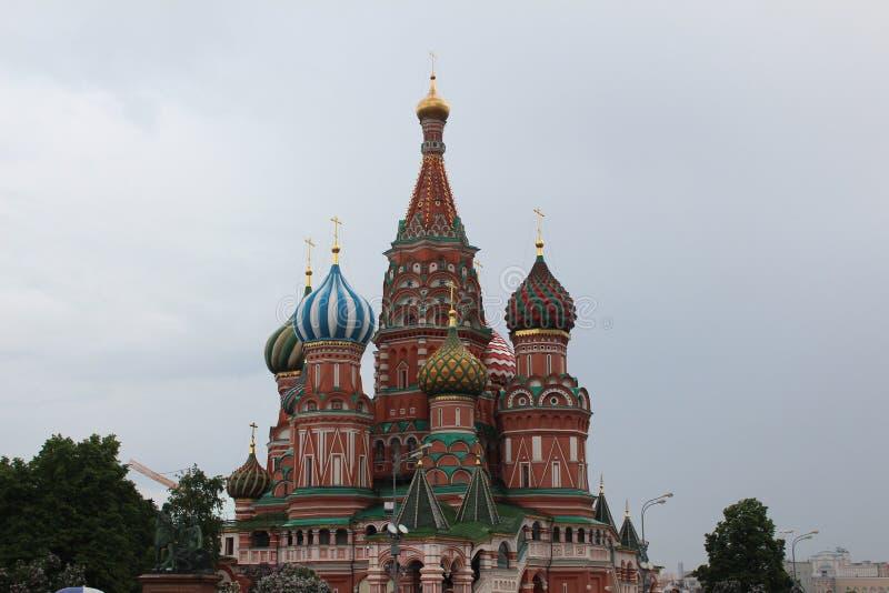 Catedral de Pokrovsky y x28; St Basil& x29; foto de archivo libre de regalías