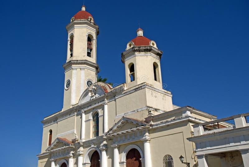Catedral de Purisima Concepción, Cienfuegos, Cuba fotografía de archivo