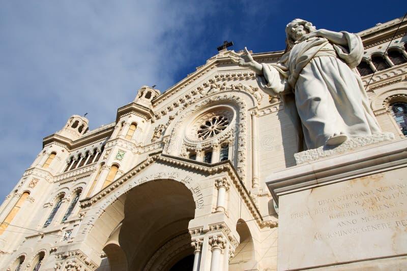 Catedral de Reggio Calabria imagem de stock royalty free