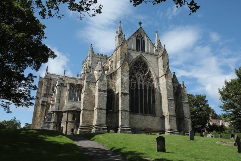 Catedral de Ripon - North Yorkshire - Inglaterra fotografía de archivo