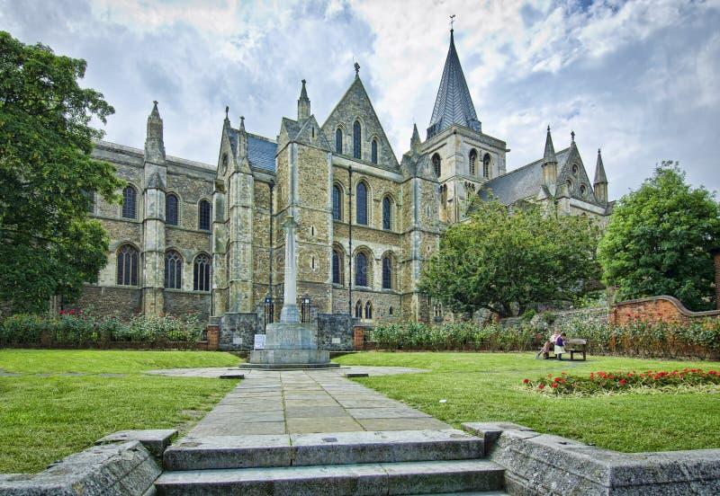 Catedral de Rochester foto de archivo libre de regalías