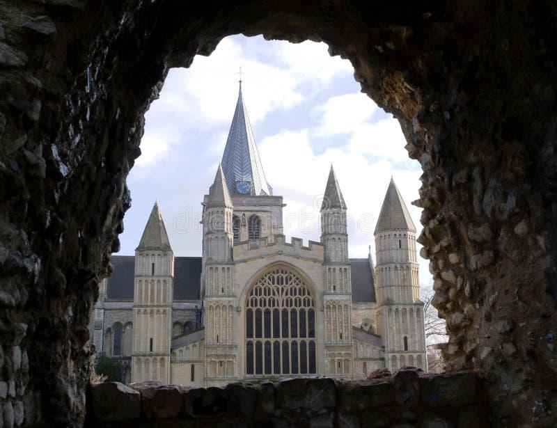 Catedral de Rochester fotos de stock