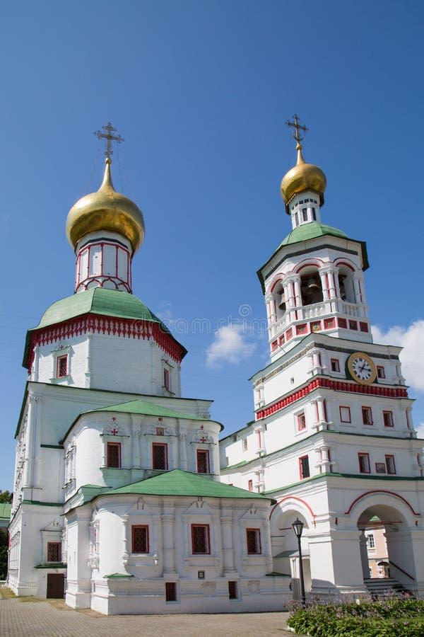 Catedral de São Nicolau no monastério do St Nicholas-Perervinsky em Moscou Vistas de R?ssia foto de stock royalty free