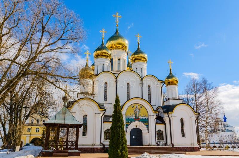 Catedral de São Nicolau no monastério de Nikolsky foto de stock royalty free