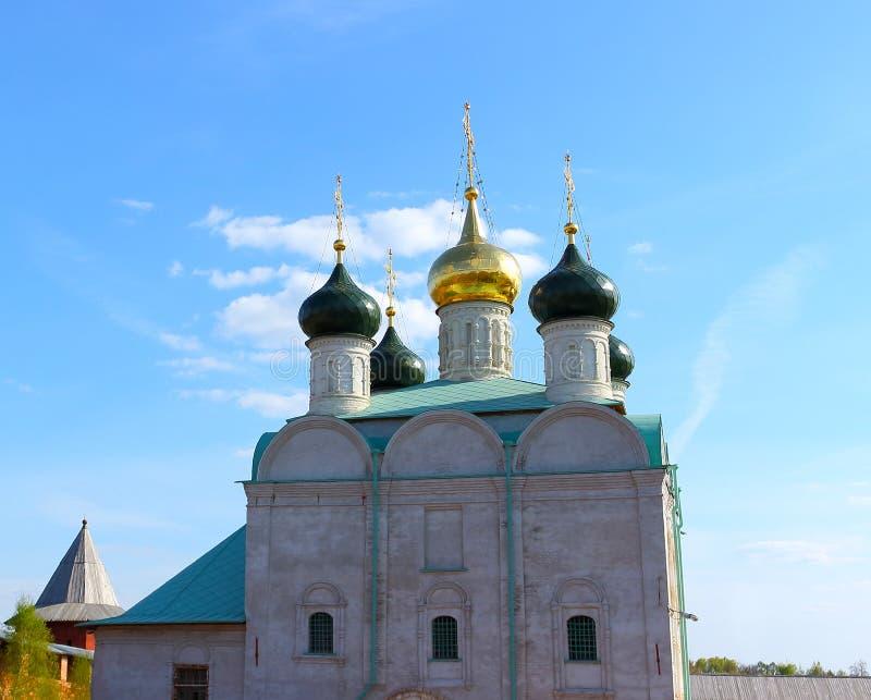 Catedral de S?o Nicolau em Zaraysk Kremlin fotos de stock