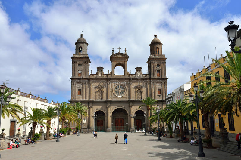 Catedral de Saint Ana, Las Palmas de Gran Canaria imagem de stock royalty free