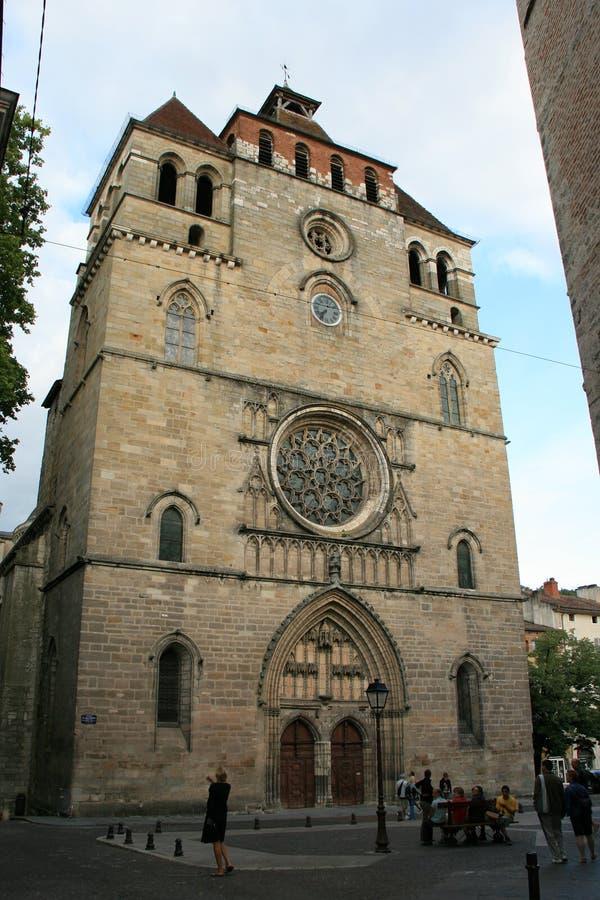 Catedral de Saint-E'tienne - Cahors - Francia fotos de archivo
