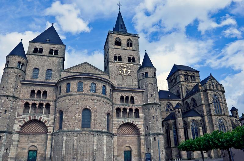 Catedral de Saint Peter, Trier fotografia de stock royalty free