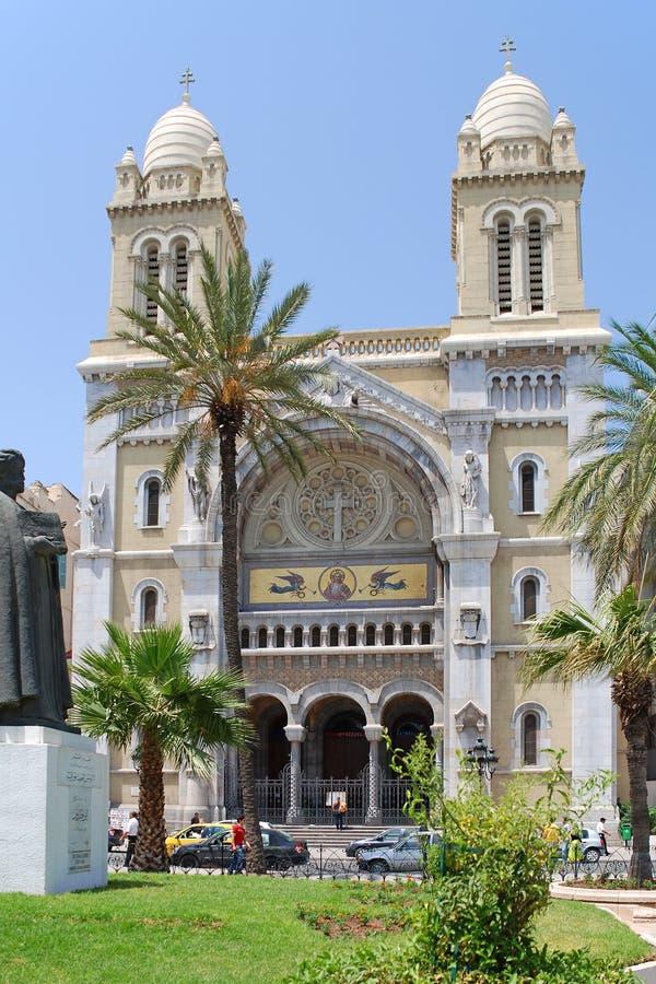 Catedral de Saint Vincent de Paul imágenes de archivo libres de regalías