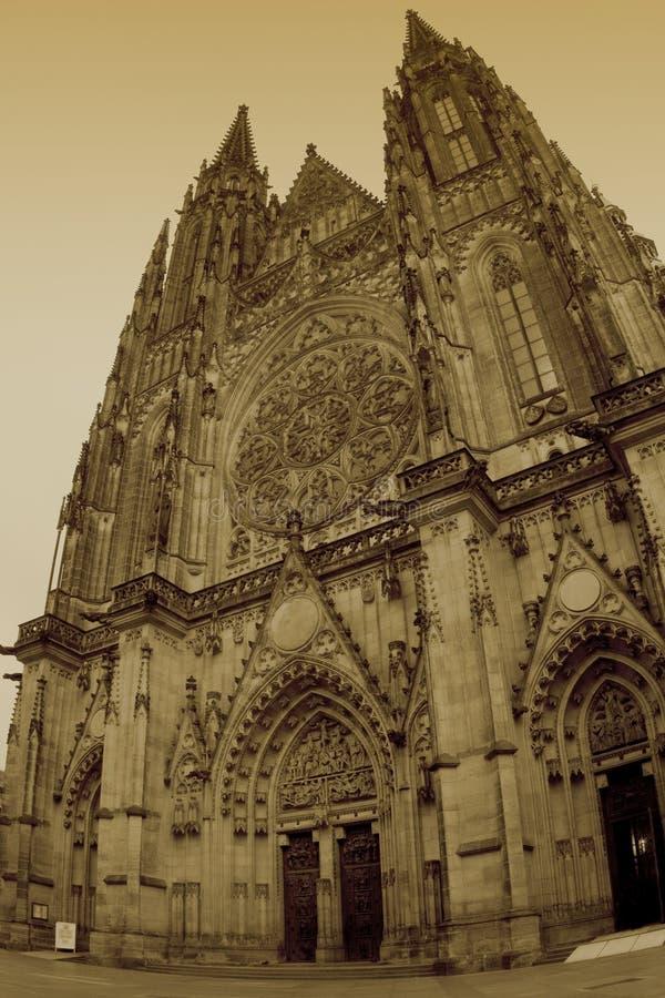 Catedral de Saint Vitus fotografia de stock