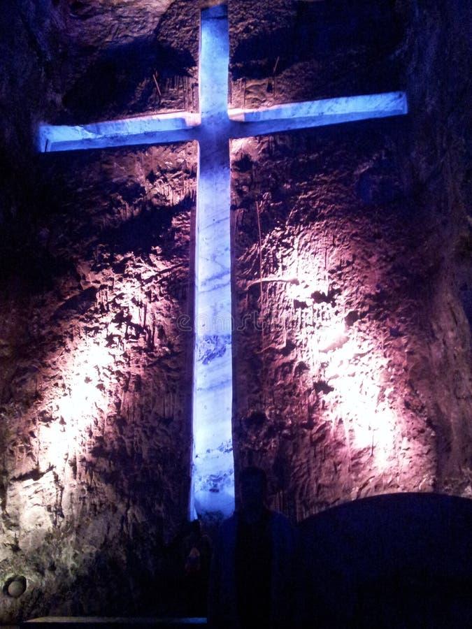 Catedral de sal imagens de stock