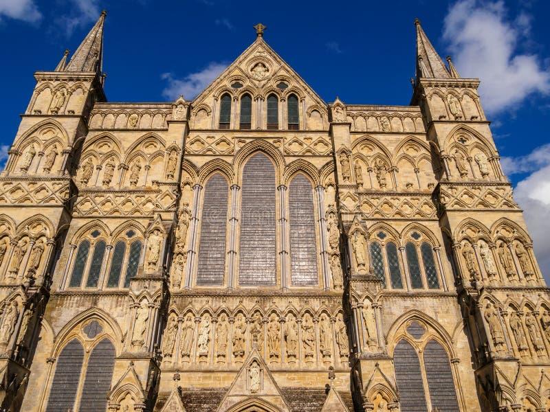 Catedral de Salisbúria foto de stock