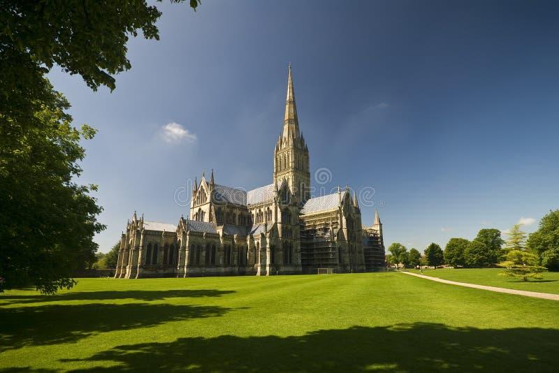 Catedral de Salisbury fotografía de archivo libre de regalías